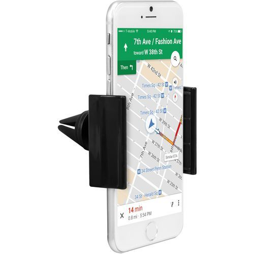 iHome Air Vent Smartphone Car Mount Black - Electronics, Personal Electronics at Academy Sports Black (IH-CM310B) - Electronics, Personal Electroni...