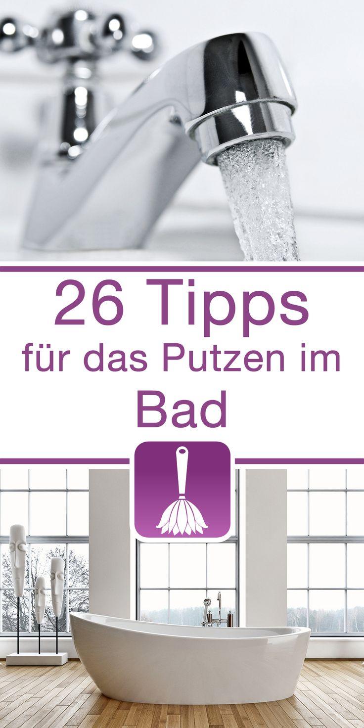 26 Tipps  Tricks fr das Putzen im Bad  Haushaltstipps