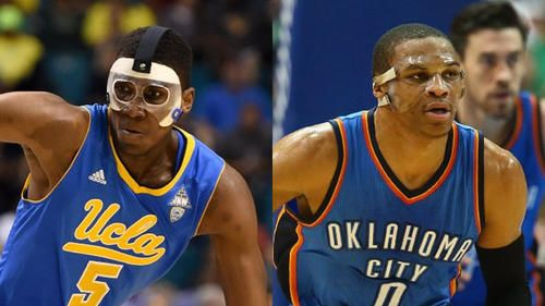 Kevon Looney will wear same type of mask worn by Russell Westbrook The Mask #TheMask