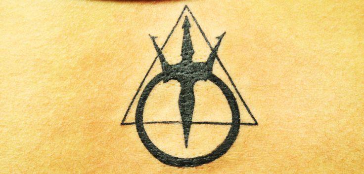 Tattoo of The mark of The Warriors of Poseidon - Black Poison Tattoos