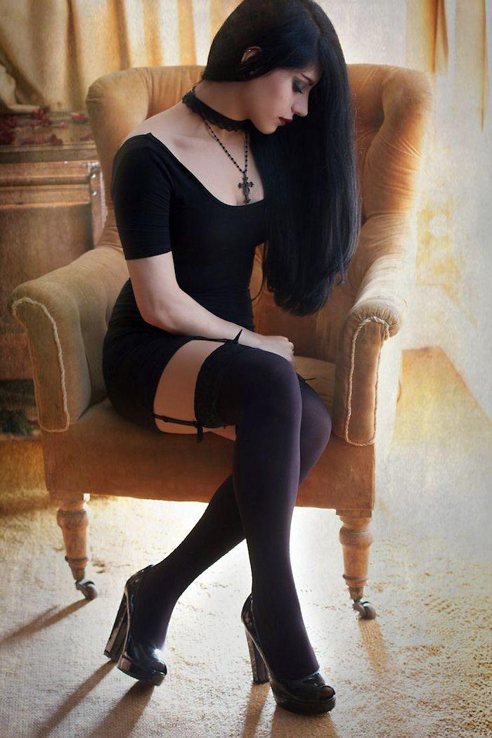 Sexy, Goth, Punk, gothic, rock, attractive, seductive