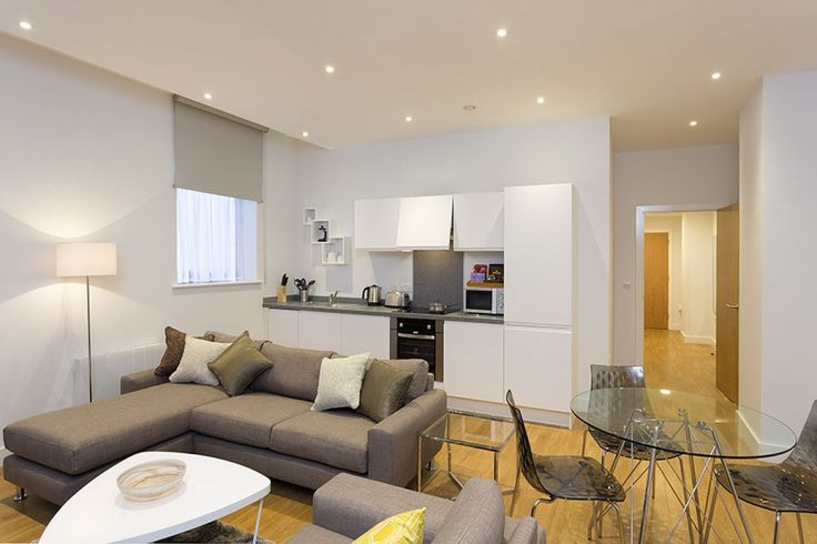 Lounge and Kitchen, Piccadilly Serviced Apartments ...