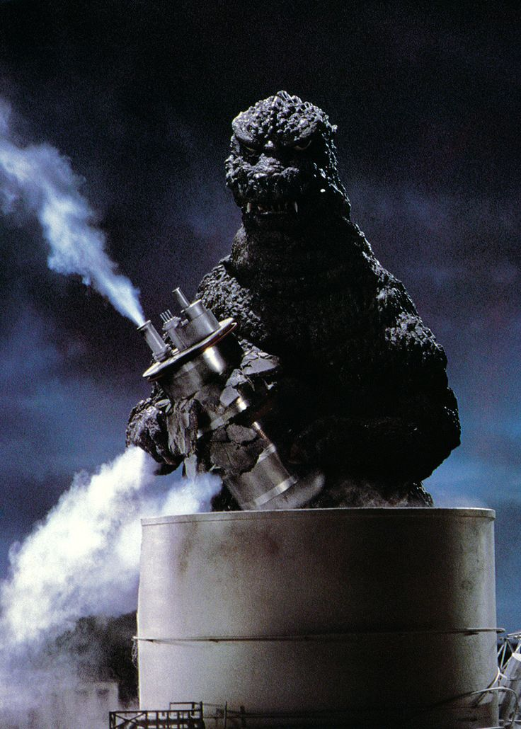 Godzilla is not a morning Kaiju and certainly doesn't like to be disturbed before his first dose of radiation.