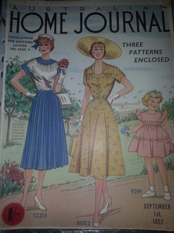 Australian home journal September 1952 cover