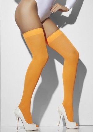 Deze leuke oranje kousen gaan over de knie en hebben een band aan de bovenzijde. Zeer geschikt voor een Nederlands feestje zoals Koningsdag of een sportevenement waar we voor Nederland juichen. De kousen zijn one size en zitten comfortabel. #oranje #kousen #koningsdag