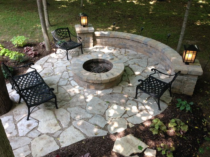 images of retaining wall with flat patio email us