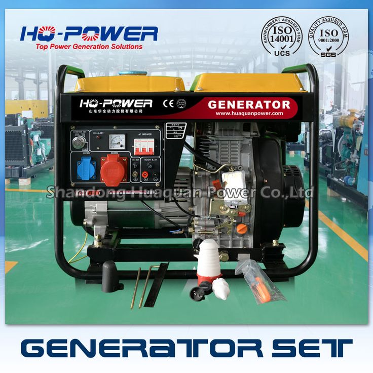 5kw price mini generator 5000w mini all in one genset diesel
