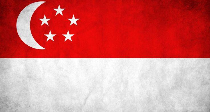 Flag of Singapore wallpaper