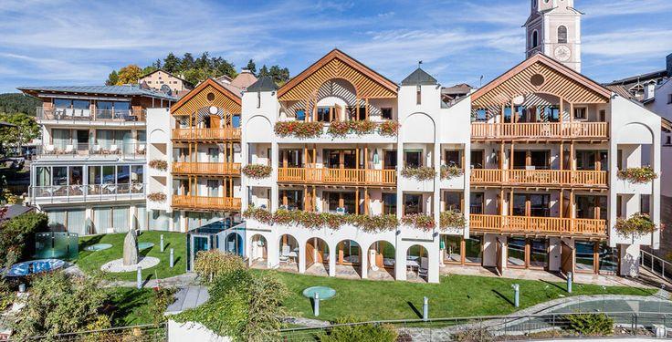 Hotel Schgaguler nel villaggio montano di Castelrotto nelle Dolomiti