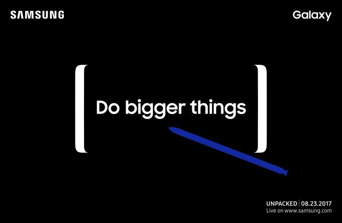 Watch Samsung's Galaxy Note 8 Unpacked event live right here Today is Samsung day. The company is about to unveil its new big phone — the Samsung Galaxy Note 8. While there has been leaks of the new device, the company could surprise everyone with new software features and new components. The event will start at 11 AM in New York, 8 AM on the West Coast,... https://unlock.zone/watch-samsungs-galaxy-note-8-unpacked-event-live-right-here/