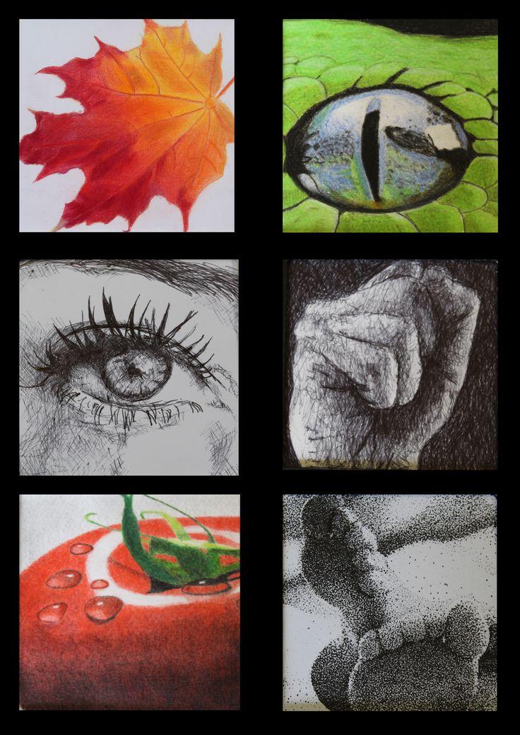 Grade 10 Drawing techniques.