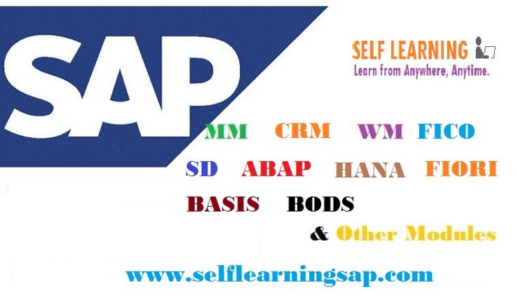 SAP All Videos Are Available in SELF LEARNING SAP Center. http://www.selflearningsap.com  We have the training solutions for the modules like SAP SD, CRM, QM, FIORI , BPC10 , HANA S4 simple finance, MM , ABAP, FICO, APO, WM, EWM , BO 4.1 , BI 7.3, PI 7.4,PP, HR/HSM , BASIS HANA , ABAP Webdynpro & OOPs.