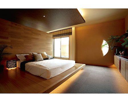 ホテル 寝室 木 - Google 検索