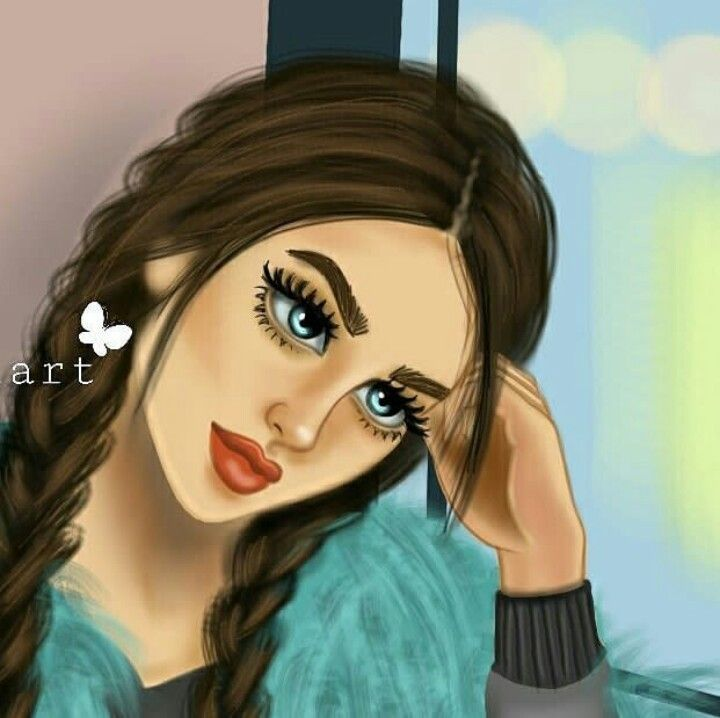 Pin By Zakiyyah Kousar On Dibus Girls Y Otros Girly Drawings Digital Art Girl Anime Art Girl