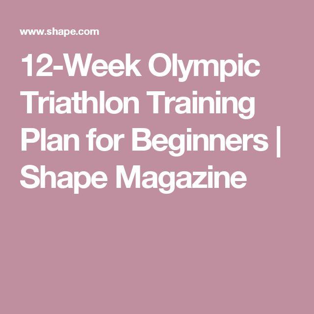 Strength Training Plan For Triathletes: 17 Best Ideas About Triathlon Training Plan On Pinterest