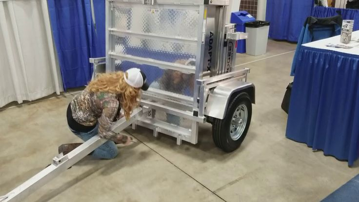 Apogee Trailer at the BC Sportsmen's Show