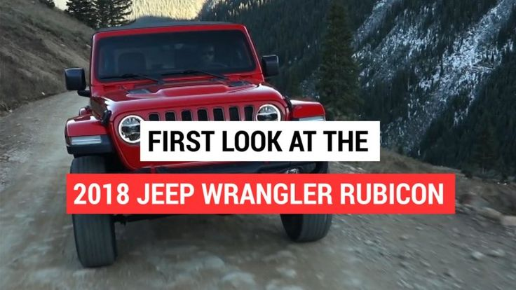 2018 Jeep Wrangler Rubicon revealed | Video