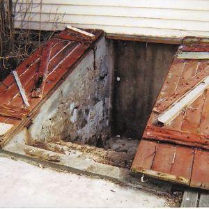 10 best outdoor exterior basement cellar bulkhead door for Adding exterior basement entry