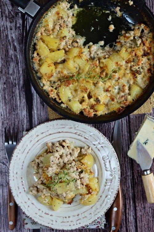 Serpenyős rakott burgonya recept