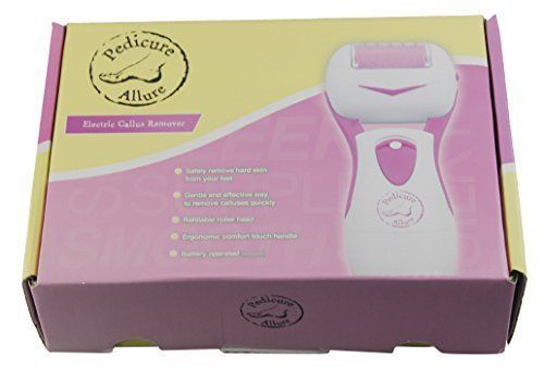 Pedicure Allure Electric Callus Remover, Foot Pedicure File