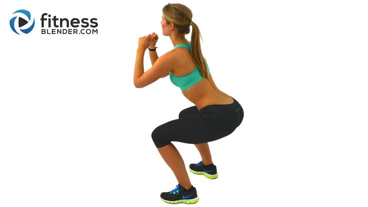 5 Minute Butt and Thigh Workout for a Bigger Butt - Exercises to Lift and Tone Your Butt and Thighs - Fitness Blender