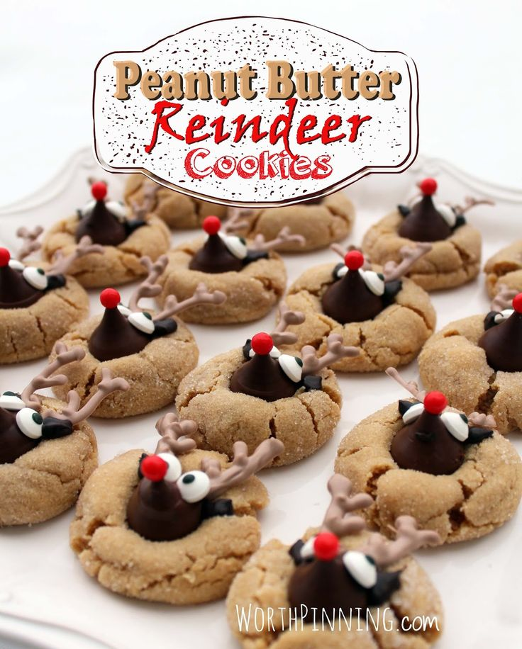 I tossed a bag of Hershey's Kisses into my grocery cart a couple of weeks ago thinking I'd make Peanut Butter Blossom Cookies this holiday...