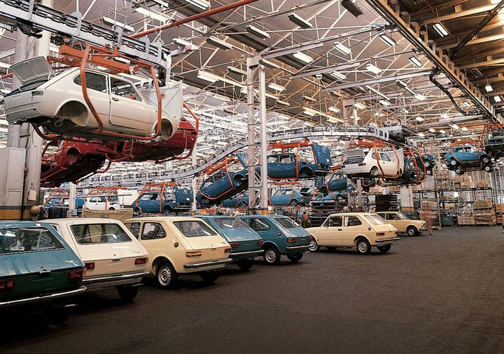 Production of the SEAT 127