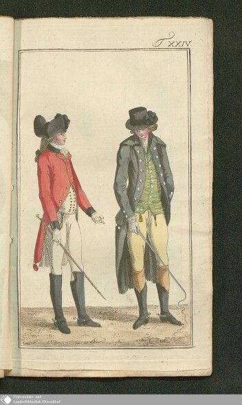 August 1786  Journal des Luxus under der Moden