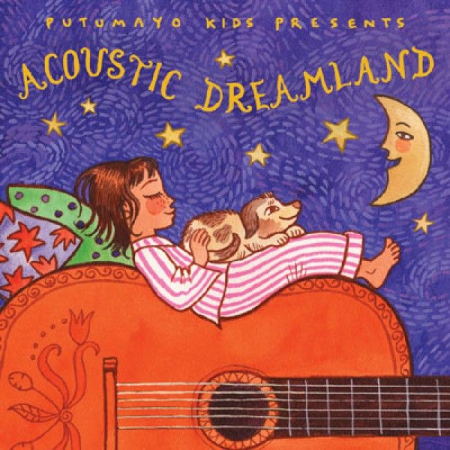 Step into a state of relaxation with Putumayo's Acoustic Dreamland CD! Both Dads and kids will be able to unwind with this delightful selection of classic and acoustic songs. You will be well rested for many more fun games and adventures the next day!  http://www.entropy.com.au/putumayo-kids-music-acoustic-dreamland #entropytoys #fathersdaygifts #giftsfordad
