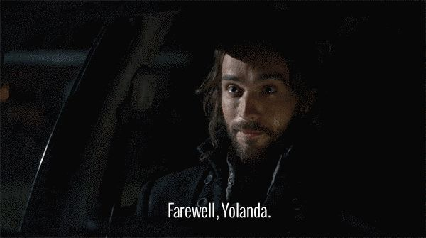 "That time he had to call NorthStar to unlock a car door, and he thanked Yolanda profusely for rescuing him. | 19 Times Ichabod Crane Was Adorably Clueless On ""Sleepy Hollow"""