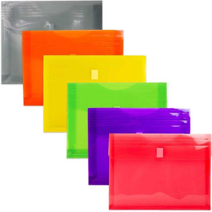 Plastic Envelopes with VELCRO� Brand Closure