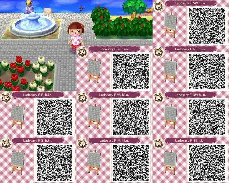 Ladosary Pathway Set Animal Crossing New Leaf Qr By Hanae Narahashi Animal Crossing New Leaf