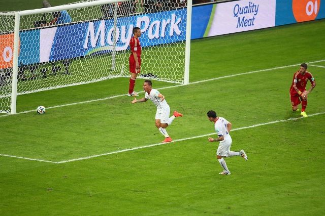 2014 FIFA World Cup – Spain Vs. Chile