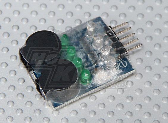 HobbyKing™ Lipoly Low Voltage Alarm (2s~4s)