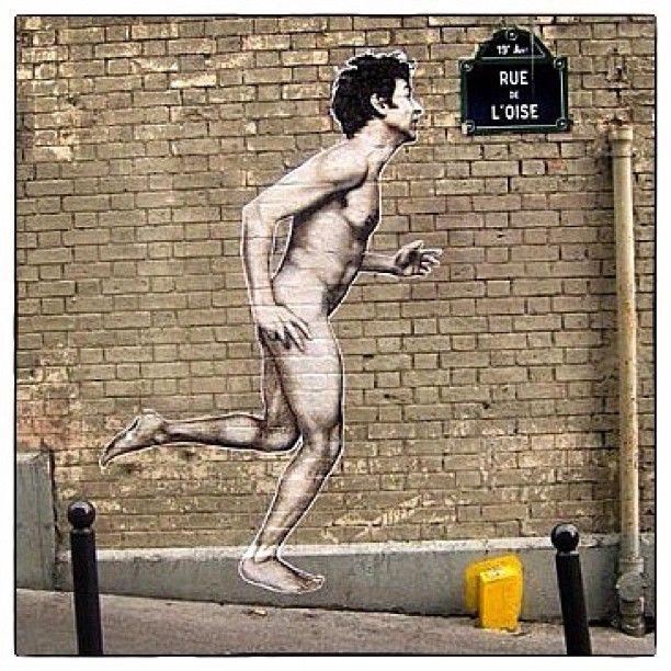 Canal de l'Ourcq -  #Parigi #streetart www.viviparigi.it