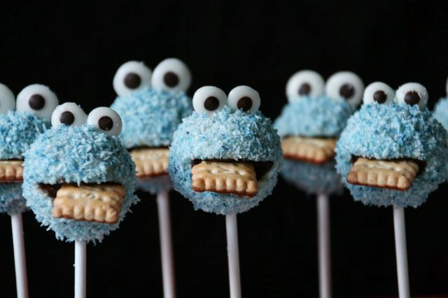 Krümelmonster-Cakepops | One more, please! | Bloglovin'