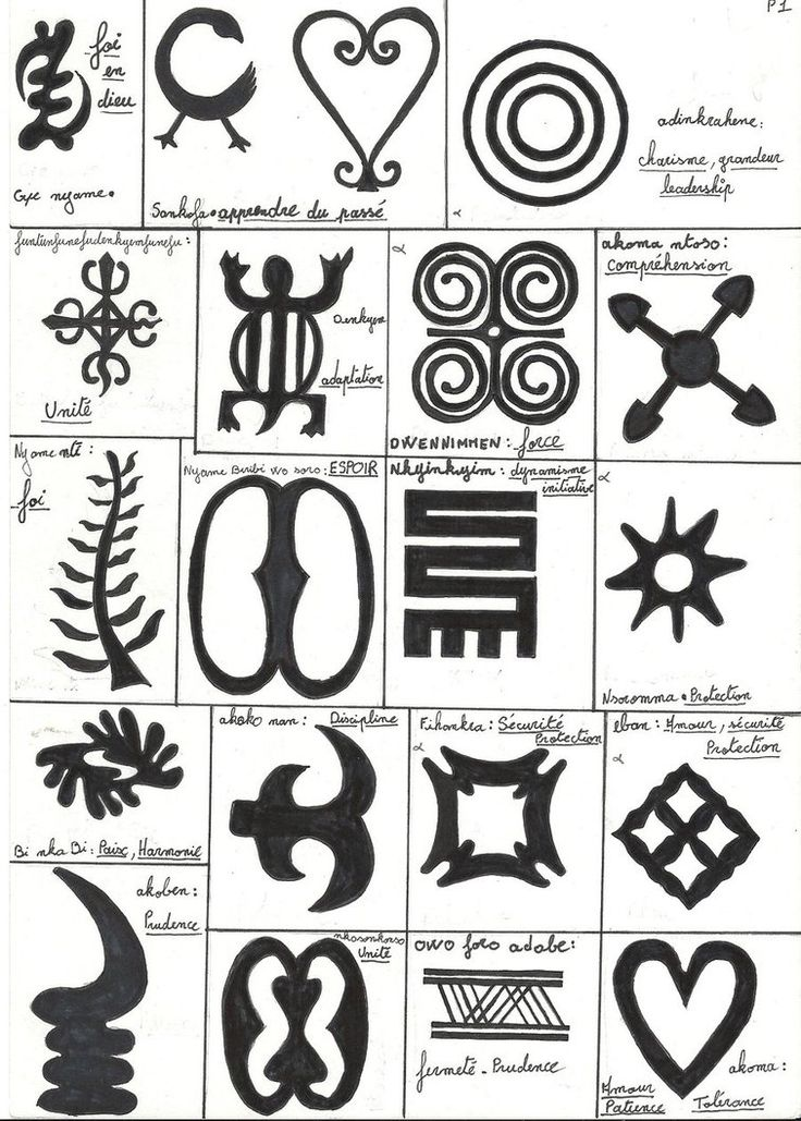 West African Symbols 25 Best Ideas About Adinkra Symbols On