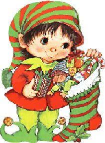 Kabouterjongen met Kerstsok met Cadeautjes