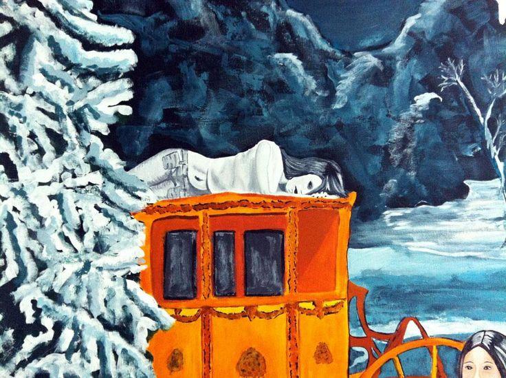 Details from artwork. Artist Jeanette Marie Kjeldsen, Denmark.