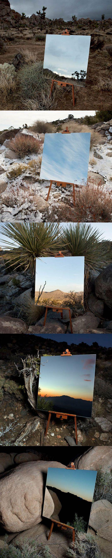 Nature art - Mirrors In The Desert