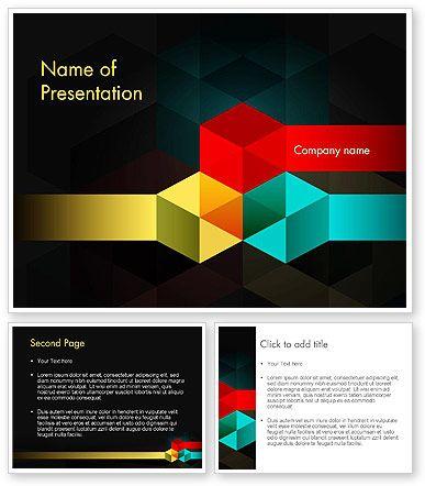 27 best abstract powerpoint templates images on pinterest httppoweredtemplate119510index geometric shapespresentation templatesdesign colorhomeworktemplates toneelgroepblik Gallery