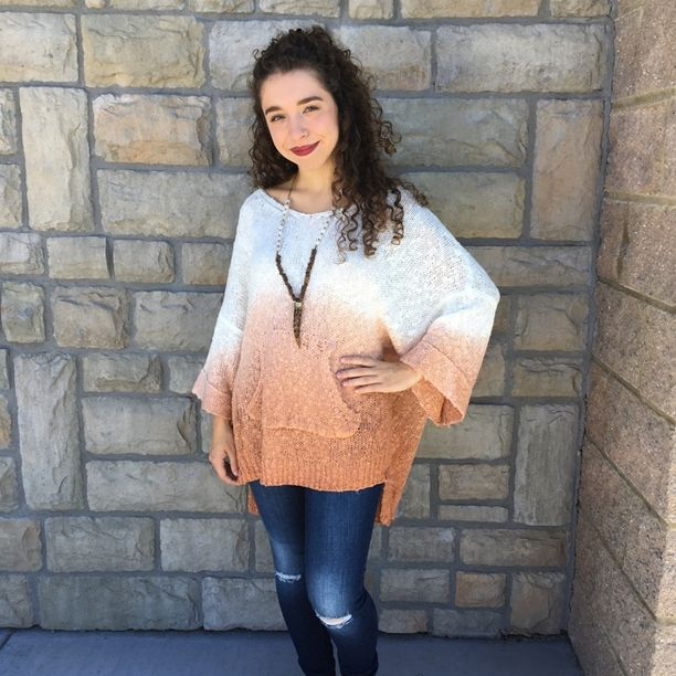 We are so excited today is finally sweater weather! {Ombré Sweater $46|| Beljoy Dakoda $54}   Comment below with PayPal to purchase and ship or comment for 24 hour hold  #repurposeboutique#loverepurpose#hipandtrendy#shoprepurpose#boutiquelove#style#trendy#fall#jewelry#artisan#sweater#lovebeljoy