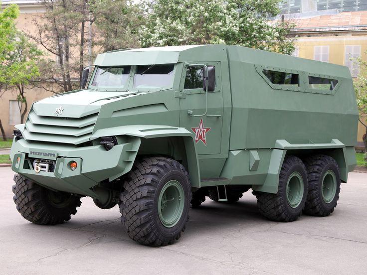 armored car Kolun Russia