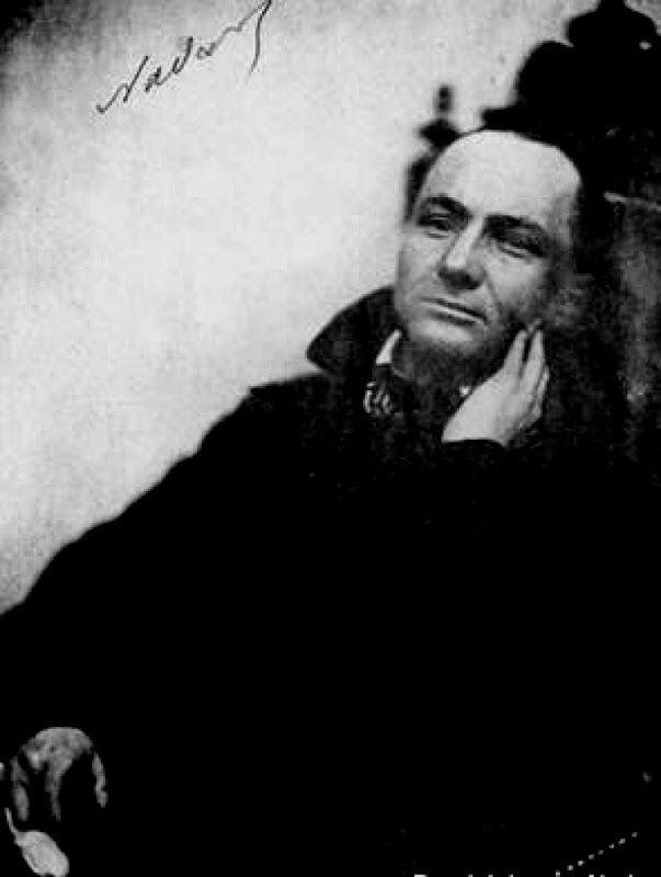 Charles Baudelaire, foto di Nadar