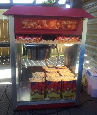 Tables & Chairs,Pop Corn Machine Hire,Candy Floss machine Hire,Bubble Machine Hire, Donut Machine Hire- A1 Bouncy Castles Auckland