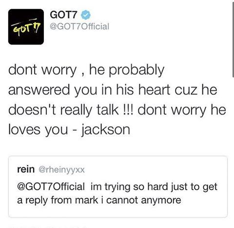 Cherish Jackson Wang... He is one  of the few people in this world who can reset your faith in humanity