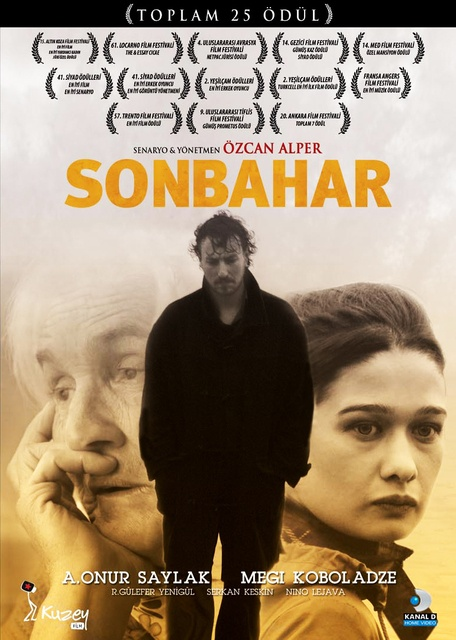 "Artwork for award winning Turkish film ""Sonbahar / Autumn"" by Özcan Alper    it is a psychological drama about Yusuf, who was sentenced as a young student due to his anti-goverment involvement and served 10 years in jail until he was released because of health reasons. With its beautiful and award-winning cinematography and soundtrack, ""Sonbahar/Autumn"" documents and criticizes the era of post nineties in Turkey and socialism as a shattered dream, exposing the irony and the reality."