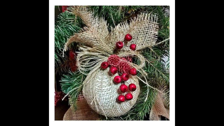 Jak wykonać ... BOMBKA PRZAŚNA na CHOINKĘ  ;) #Christmasdecorations
