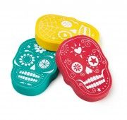 Sugar Skull Erasers, download this image at www.prshots.com #skull #fashion #home #goth #rock #hipster #trend #style
