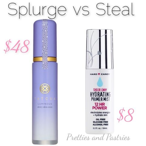 Tatcha Luminous Dewy Skin Mist DUPE: Pretties and Pastries